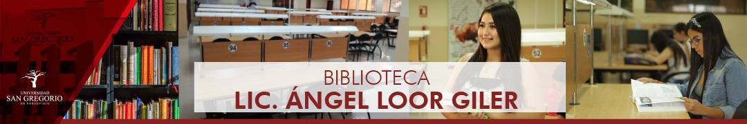 Biblioteca Lic. Angel Loor Giler
